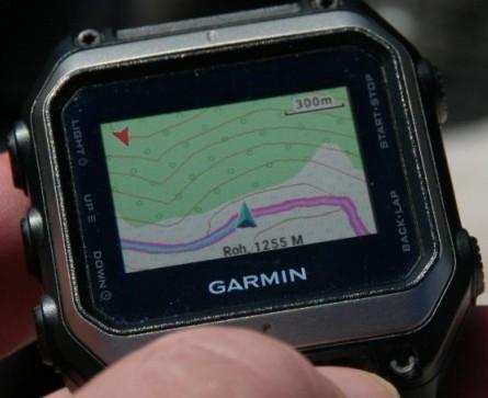 Garmin Epix Watch Route On Tourist Trails Routable Map